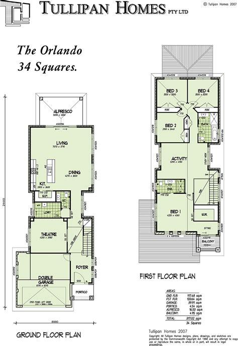 narrow homes floor plans orlando storey narrow home design home design