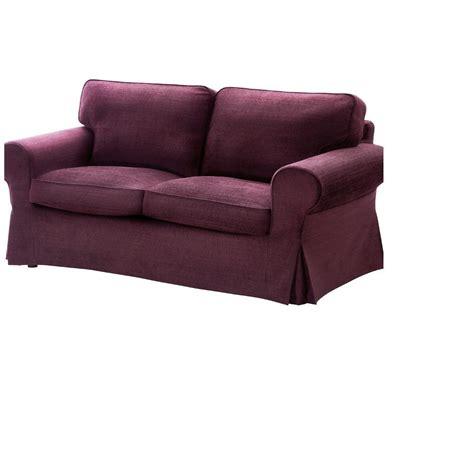 purple sofa slipcover ikea ektorp 2 seat loveseat sofa cover slipcover tullinge