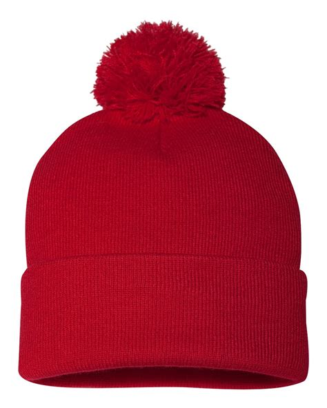 pom pom knit hat sportsman pom pom knit cap hat sp15 ebay