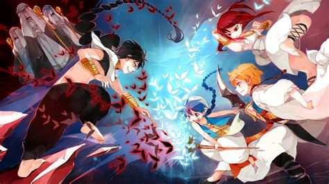 magi labyrinth of magic magi