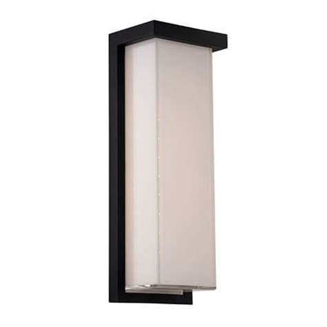 outdoor wall light led modern led outdoor wall light in black finish ws w1414
