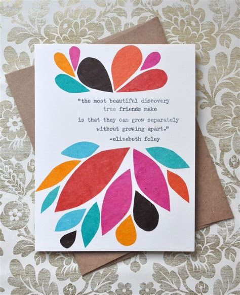 how to make greeting cards for friends birthday card handmade greeting card friendship quote