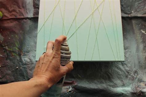 spray painting diy diy abstract customized modern artwork