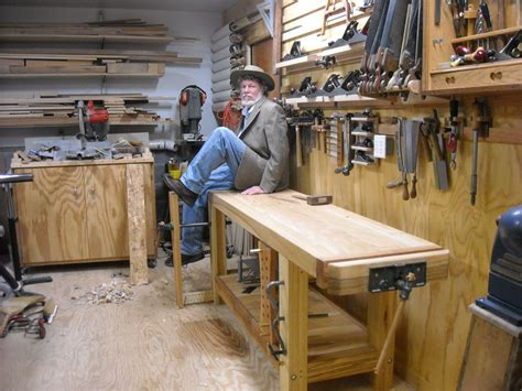 woodworking plan maker my big ash knockdown roubo workbench by combo prof
