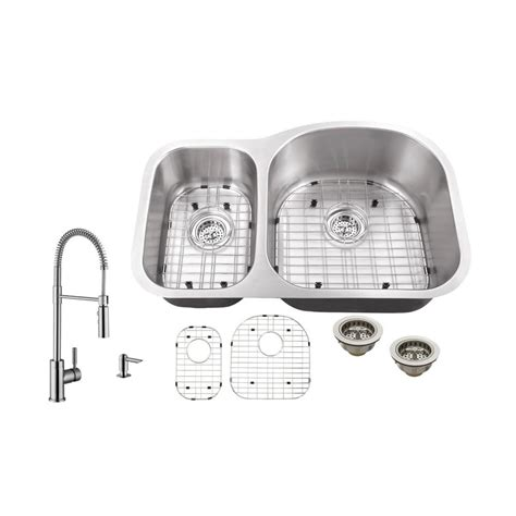 the kitchen sink company ipt sink company undermount 32 in 18 stainless