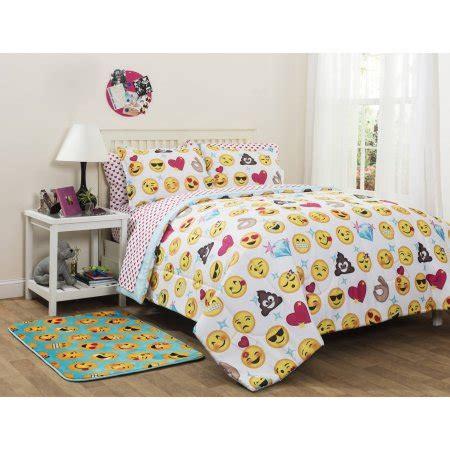 bed comforter sets walmart emojipals bed in a bag bedding set only walmart