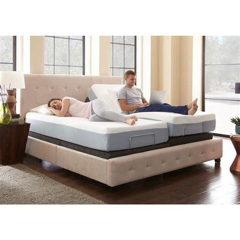 adjustable base bed frame rest rite king size rest rite adjustable foundation base