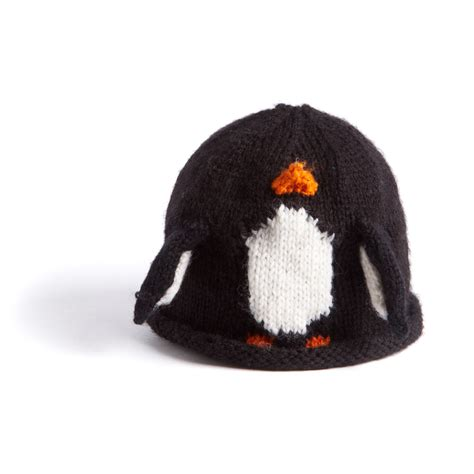 knitted penguin how to knit a penguin hat canadian living