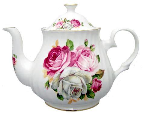 teapot shoppe summertime blooms heirloom bone china teapot 4 cup the
