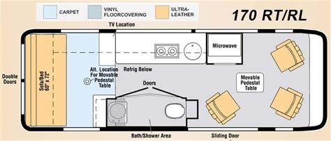 class b motorhome floor plans class b motorhome floor plan class b motorhomes floor