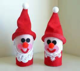 christma craft ideas preschool crafts for toilet roll santa craft