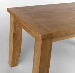 Oak Top Dining Table Chiltern Oak Fixed Top Dining Table Narrow 4