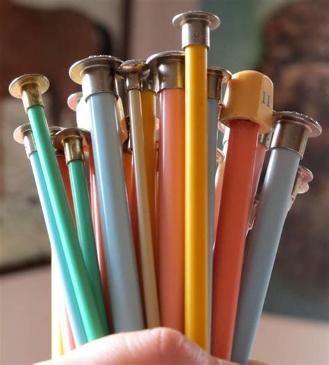 how to remove knitting from needles 1000 images about knitting needle on paint