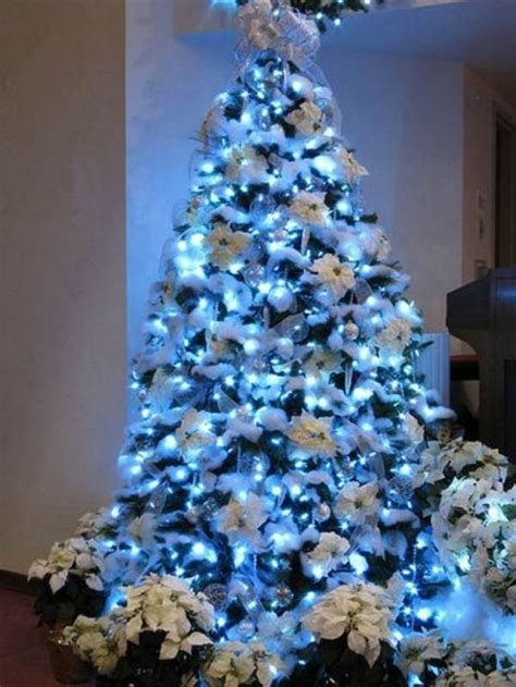 blue and silver tree decorations ideas tree decoration blue and silver designcorner