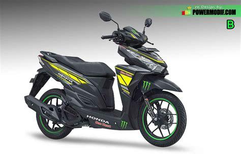 Modifikasi Motor Vario modifikasi vario 125 esp iss fi velg jari jari 17 thailook