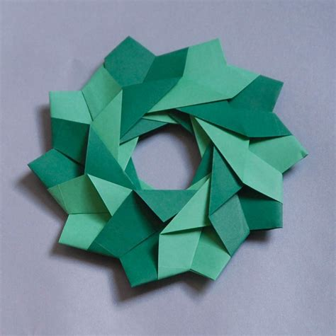 origami wreaths and rings l camargo origami modular