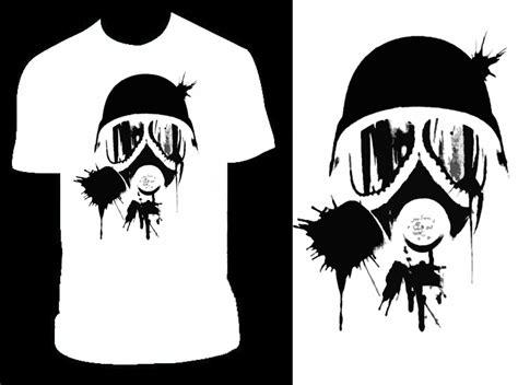 gas mask white t by pandapirate69 on deviantart