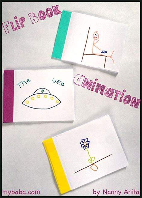 how to make a picture flip book flip books with children my baba parenting