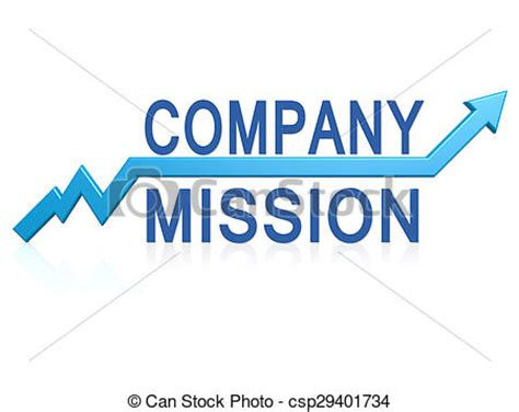 stock photo company stock photos of company mission with blue arrow image with
