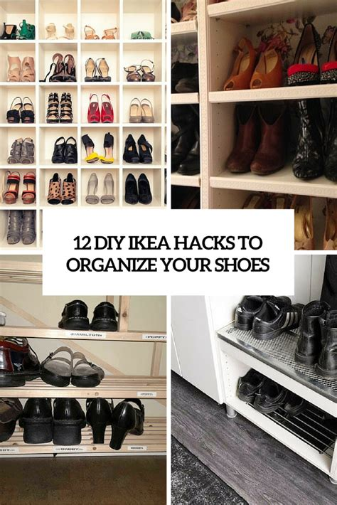 ikea shoe rack hack 12 awesome diy ikea hacks for shoes organization shelterness