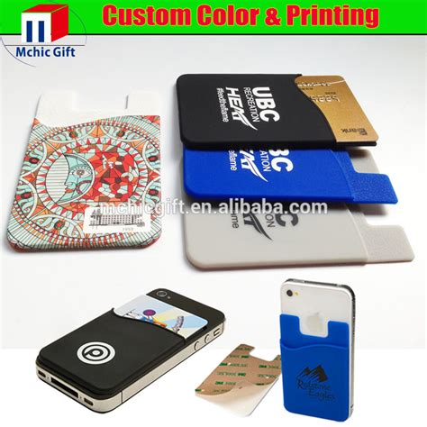 cheap rubber sts for card custom cheap rubber silicone card holder 3m 300lse sticker