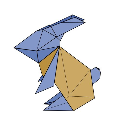 origami rabbit to the moon origami rabbit to the moon by stphq on deviantart