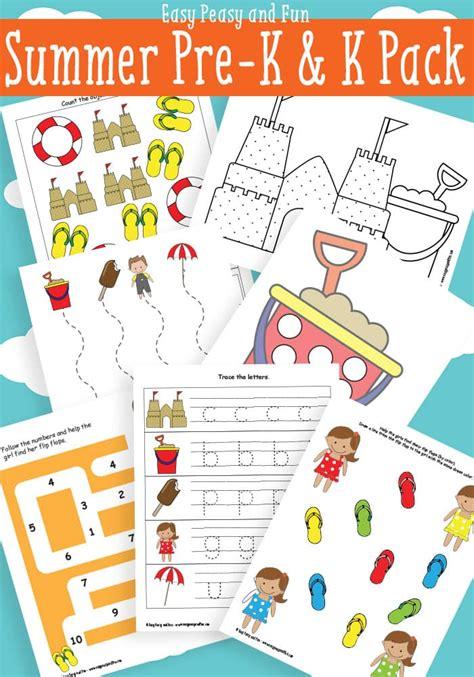 preschool for summer printables for preschool easy peasy and