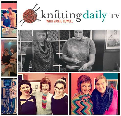 Knitting Daily Tv With Vickie Howell Is Now Airing