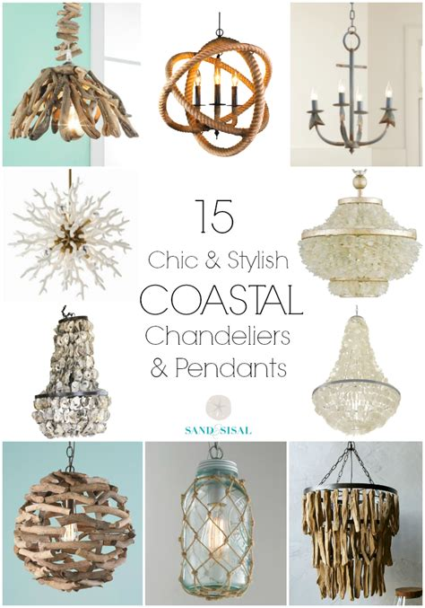 pendants for chandeliers 15 chic coastal chandeliers and pendants