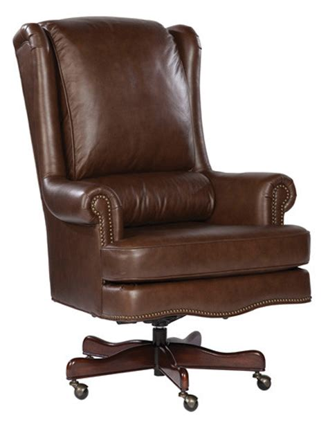 executive office chair leather coffee genuine leather executive office desk chair ebay