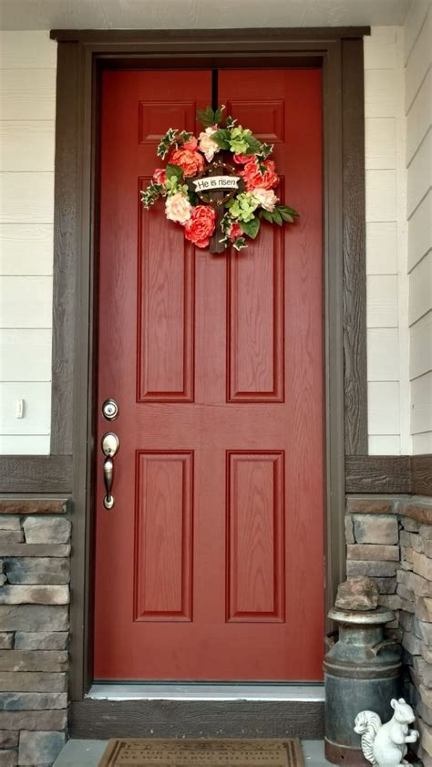 front door colors for house best 25 brown house exteriors ideas on house