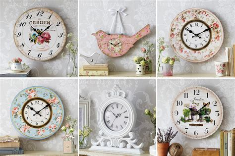 shabby chic clocks live laugh shabby chic vintage
