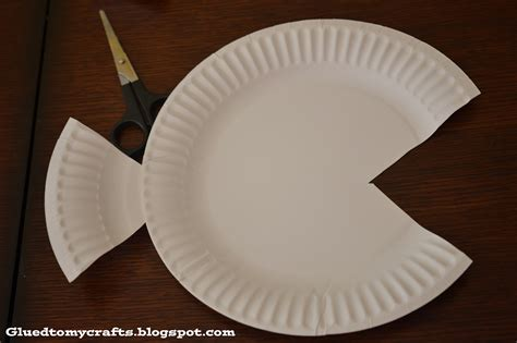 paper plate fish craft redirecting