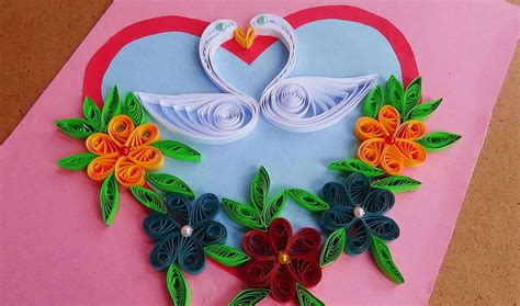 how to make beautiful cards paper how to make beautiful quilling with