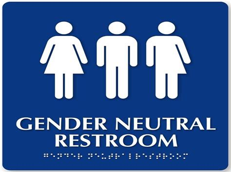 Gender Neutral Bathroom Signs by Symbolic Systems Stanford 187 Other Notable Symbols 2016