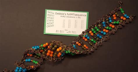 bead model deb s delvings in genealogy dna helix beaded model