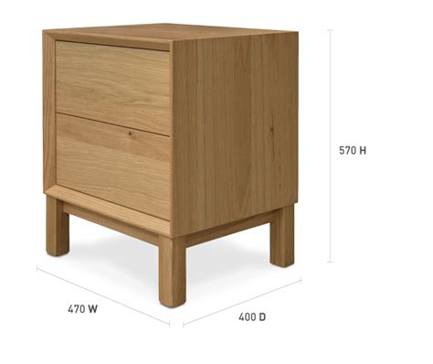 bedside table dimensions bedside table measurements 28 images constance oak 1