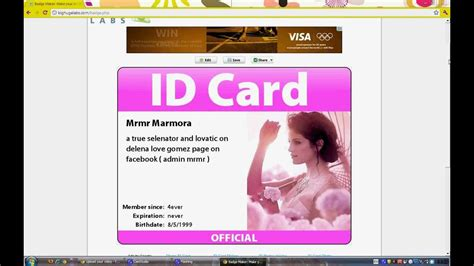 make my id card how to make id cards tutorial