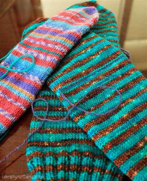 what is waste yarn in knitting socks then heels simply notable
