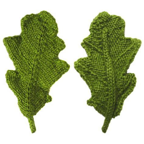 knitted leaves leaves to knit for autumn 16 free patterns grandmother