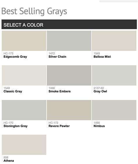 best benjamin paint best selling benjamin paint colors