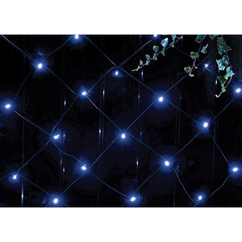 blue led net lights b m