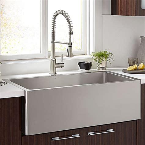 stainless steel sink for kitchen kitchen farm sinks hillside 30 inch wide stainless steel
