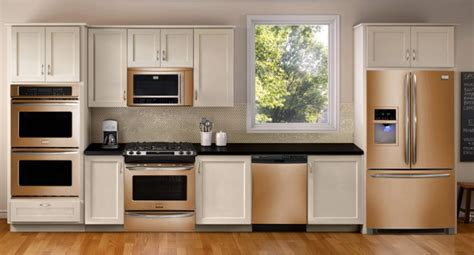 copper colored appliances update your kitchen stainless steel