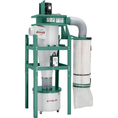 woodworking cyclone dust collection systems reviews grizzly g0440 cyclonic dust collector review diy tips