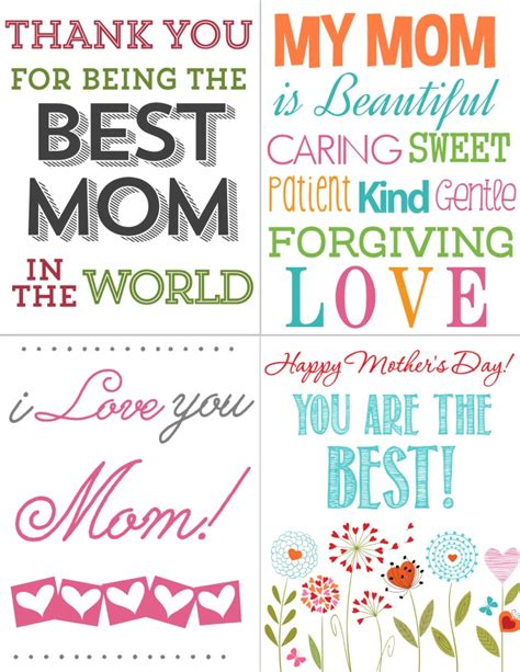 printable mothers day cards for to make printables for free 226 s day cards