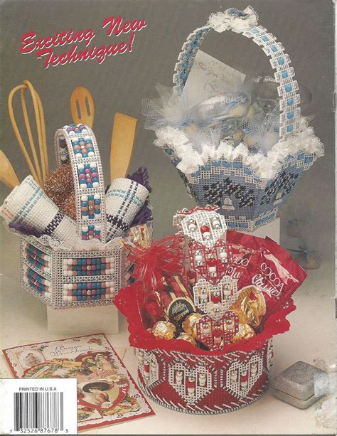 beaded basket tutorial plastic canvas pattern beaded baskets annit s attic