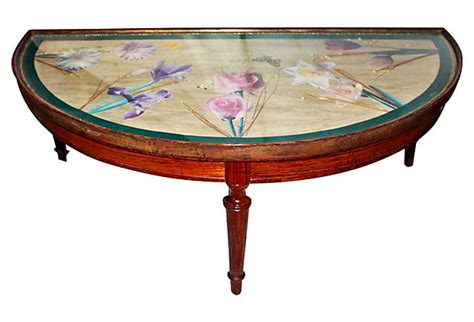 decoupage dining table decoupage table circa 1940s omero home