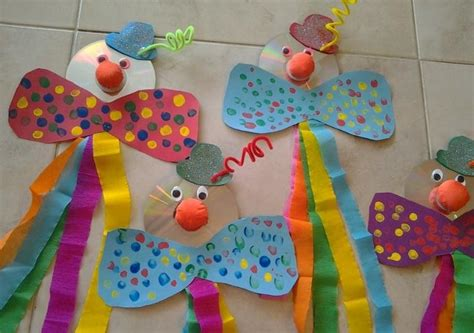 clown crafts for preschool crafts and worksheets