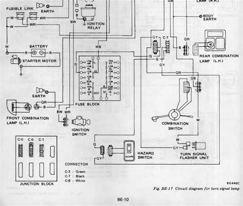 1978 datsun 280z wiring diagram 31 wiring diagram images
